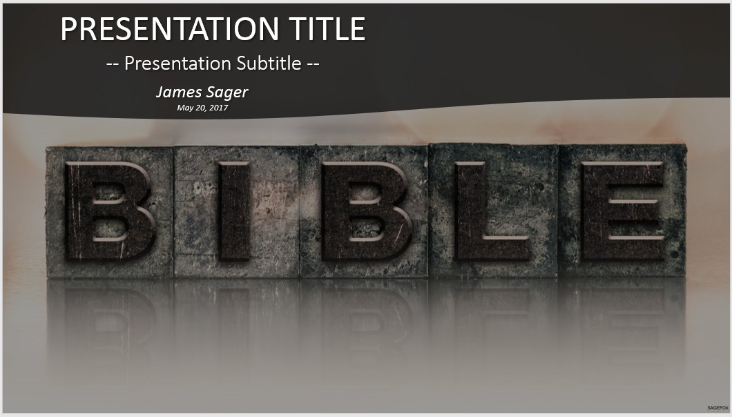 Free Bible Powerpoint 41775 Sagefox Free Powerpoint Templates
