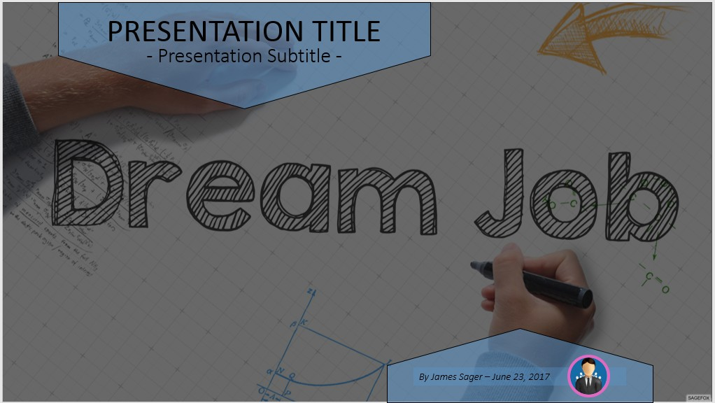 Free dream job powerpoint 47574 sagefox powerpoint templates dream job powerpoint toneelgroepblik Image collections