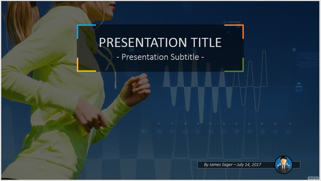 Free Fitness Powerpoint 49505 Sagefox Powerpoint Templates