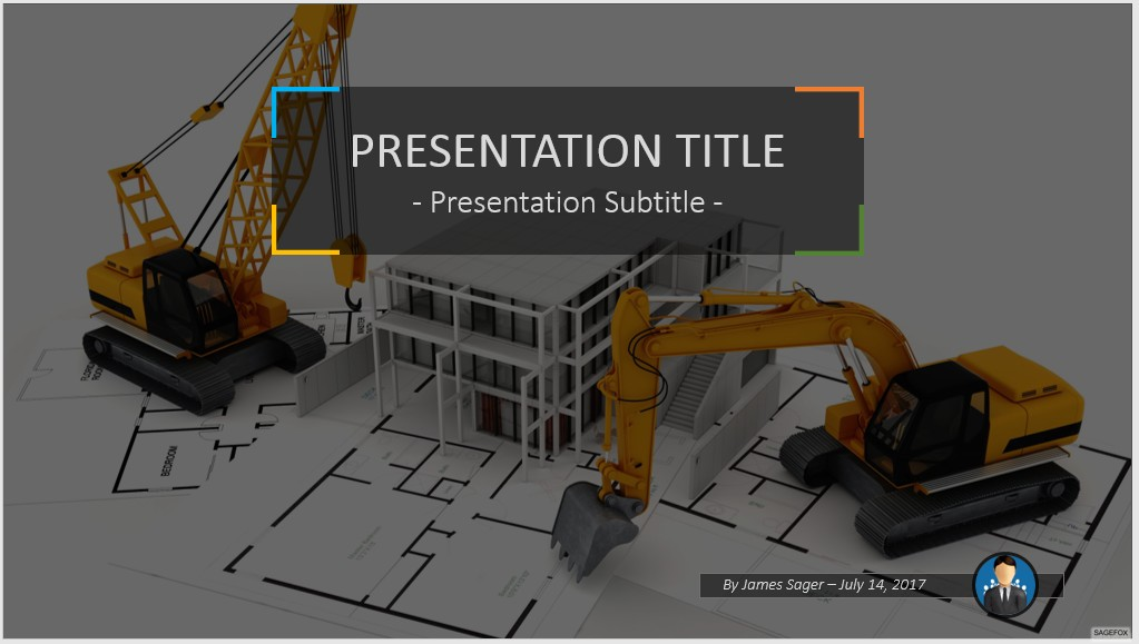 Free construction powerpoint 49835 sagefox free powerpoint templates by james sager toneelgroepblik Images