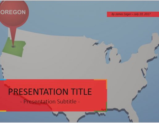 oregon state powerpoint template - oregon powerpoint free oregon powerpoint templates