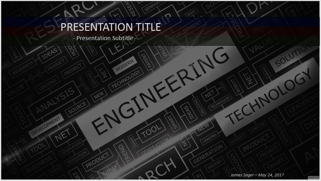 Free engineering powerpoint template yeniscale free engineering powerpoint template toneelgroepblik Image collections