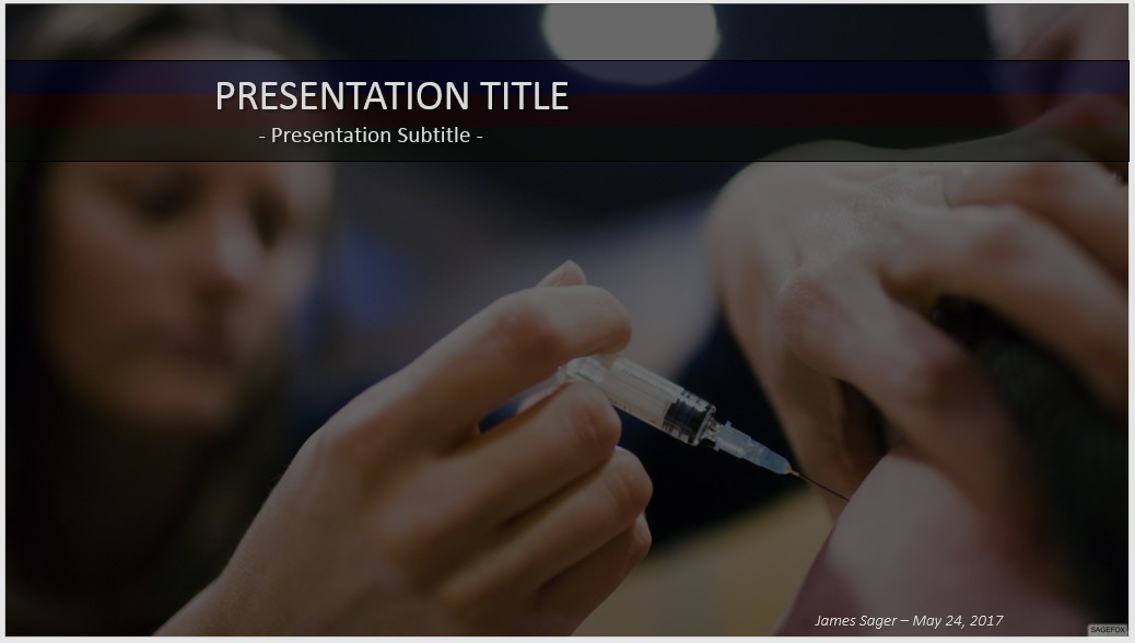 Free vaccination powerpoint 51220 sagefox powerpoint templates by james sager toneelgroepblik Gallery