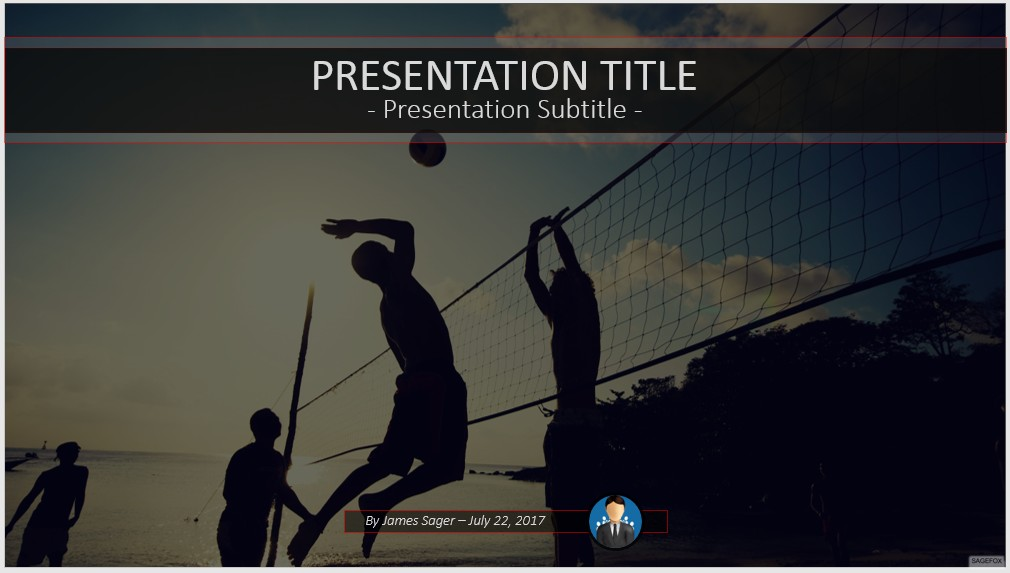 Free volleyball powerpoint 52000 sagefox powerpoint templates volleyball powerpoint toneelgroepblik Gallery