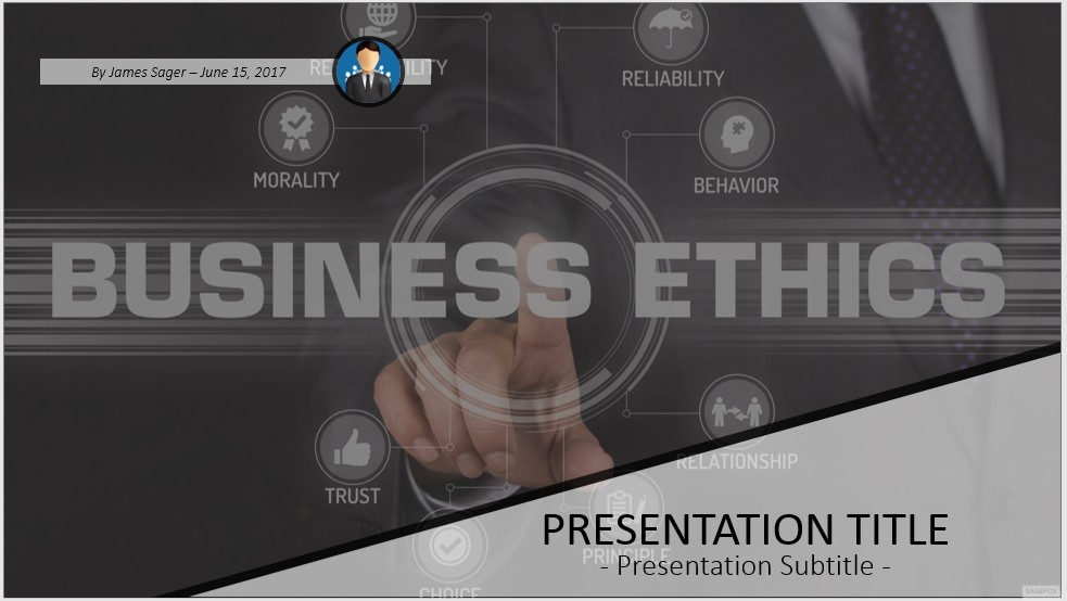 Free business ethics powerpoint 48262 sagefox powerpoint templates by james sager toneelgroepblik Images