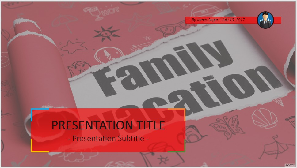 Free family vacation powerpoint 53535 sagefox powerpoint templates by james sager toneelgroepblik Image collections