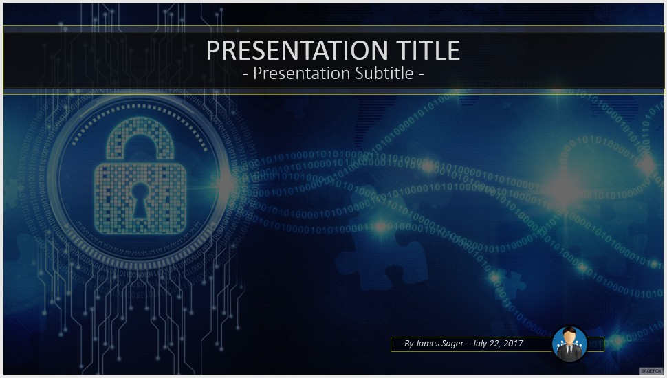 Free internet security powerpoint 53921 sagefox powerpoint templates by james sager toneelgroepblik Gallery