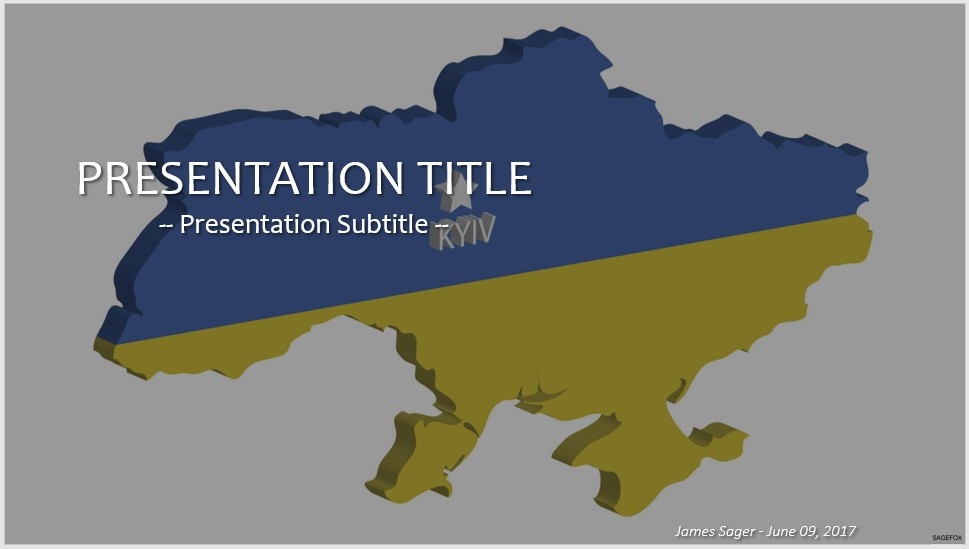 Free ukraine powerpoint 54051 sagefox powerpoint templates by james sager toneelgroepblik Images