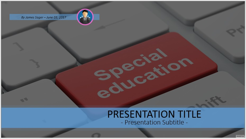 Free special education powerpoint 54671 sagefox powerpoint templates by james sager toneelgroepblik Image collections