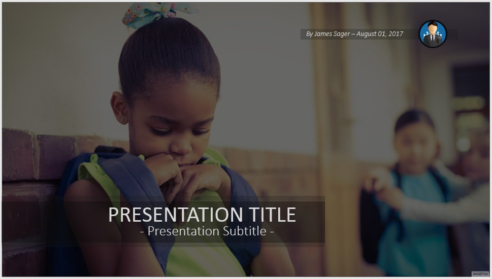 Free bullying powerpoint 41114 sagefox powerpoint templates school bullying powerpoint toneelgroepblik Images