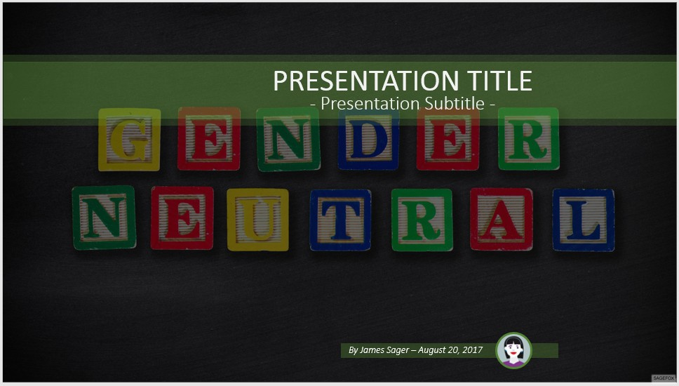 Free gender neutral powerpoint 54651 sagefox powerpoint templates please share this free powerpoint template toneelgroepblik Image collections