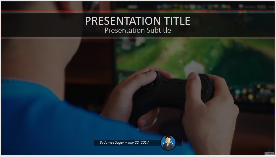 Free playing video games powerpoint 55552 sagefox free powerpoint by james sager toneelgroepblik