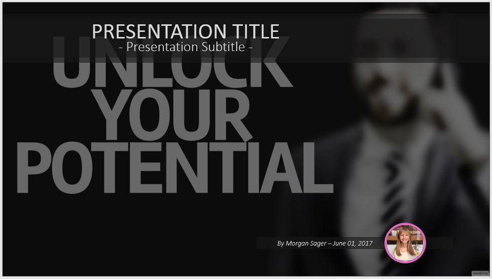 Free Unlock Your Potential PowerPoint #55702 | SageFox Free ...