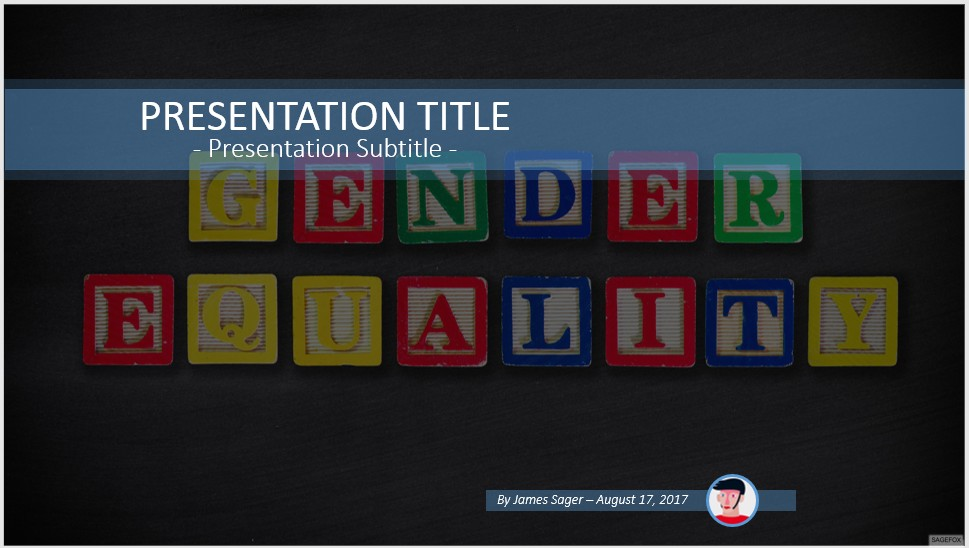 Free gender equality powerpoint 55627 sagefox powerpoint templates by james sager toneelgroepblik Image collections