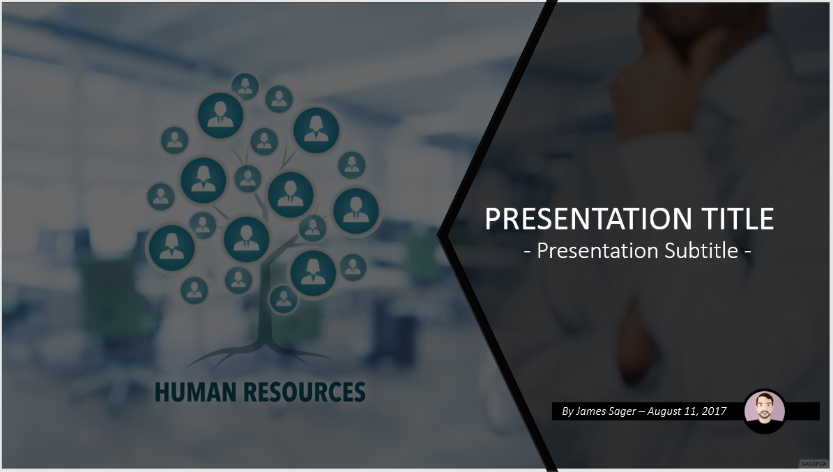 Human resources the free powerpoint template library mandegarfo human resources the free powerpoint template library toneelgroepblik Gallery