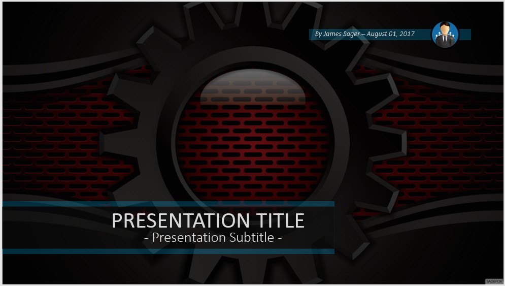 Free black and red powerpoint 58541 sagefox powerpoint templates please share this free powerpoint template toneelgroepblik Image collections