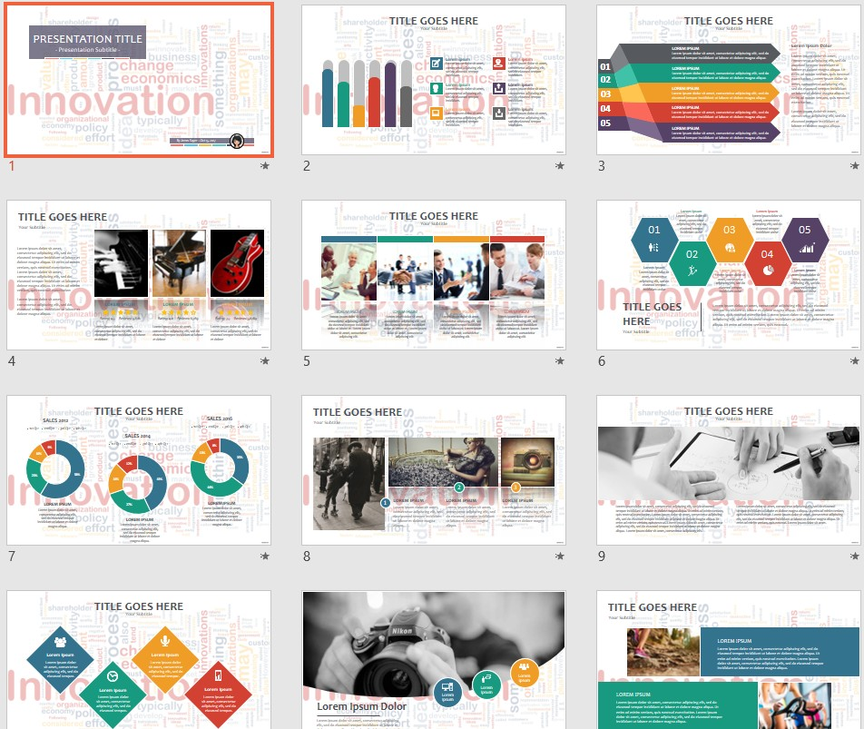 Free innovation powerpoint 58611 sagefox powerpoint templates by james sager toneelgroepblik