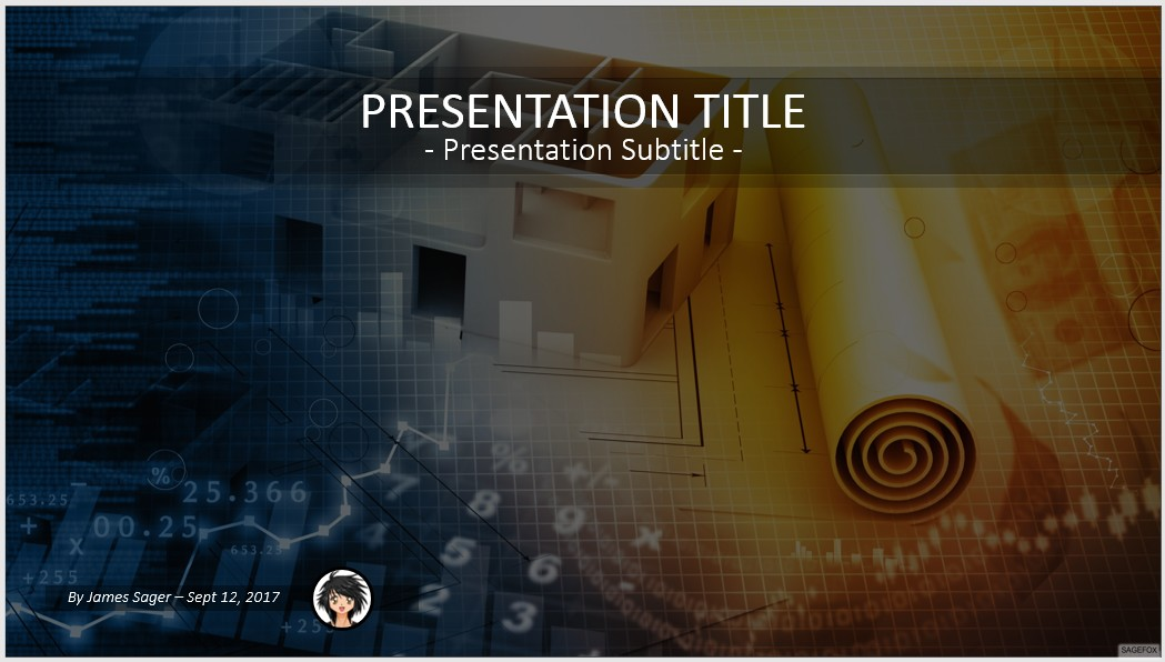 Free architectural project powerpoint 60000 sagefox powerpoint by james sager toneelgroepblik Image collections