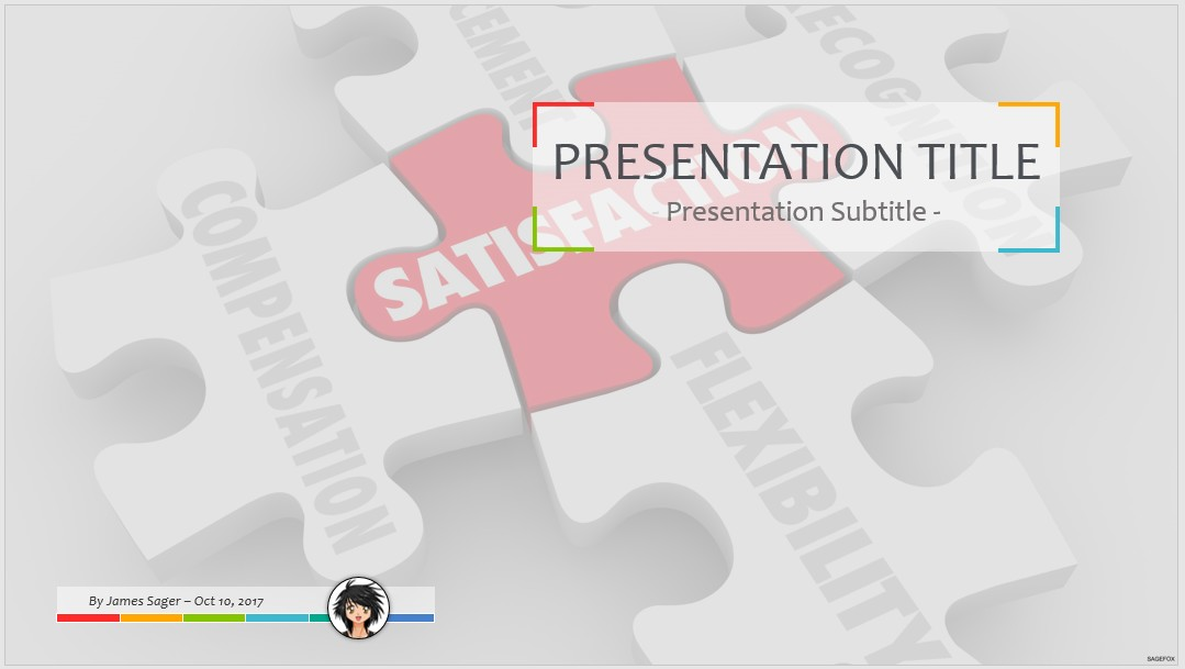 Free job satisfaction ppt 60215 sagefox powerpoint templates by james sager toneelgroepblik Image collections