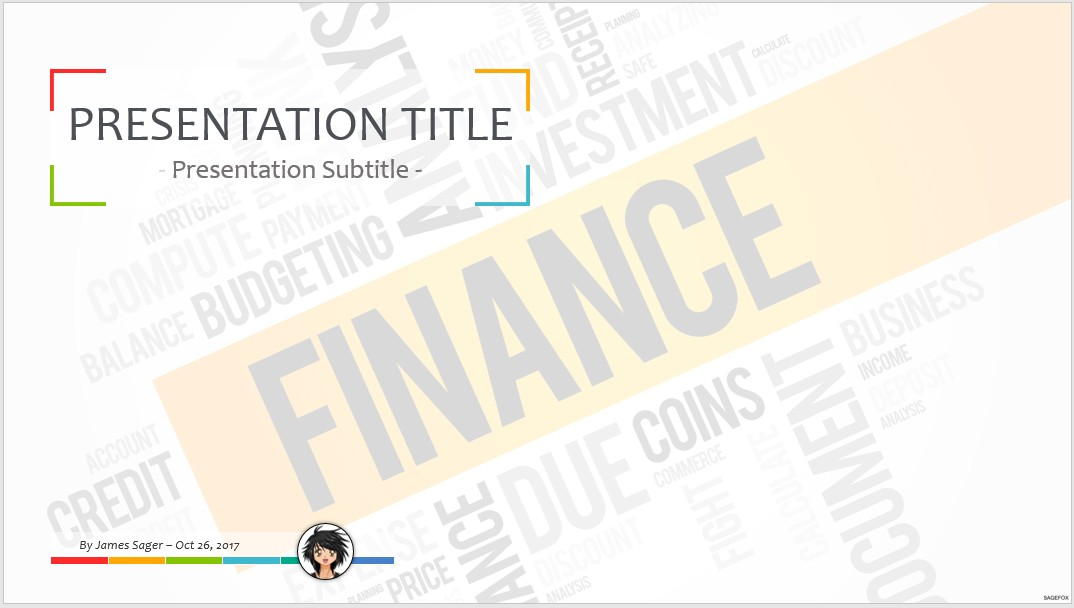 Free finance ppt 60595 sagefox powerpoint templates by james sager toneelgroepblik
