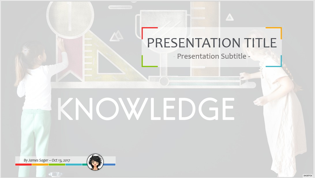 Free knowledge ppt 63877 sagefox free powerpoint templates by james sager toneelgroepblik Image collections