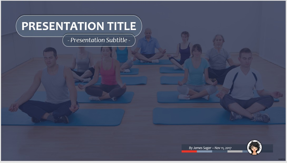Free yoga ppt 63952 sagefox powerpoint templates by james sager toneelgroepblik Images