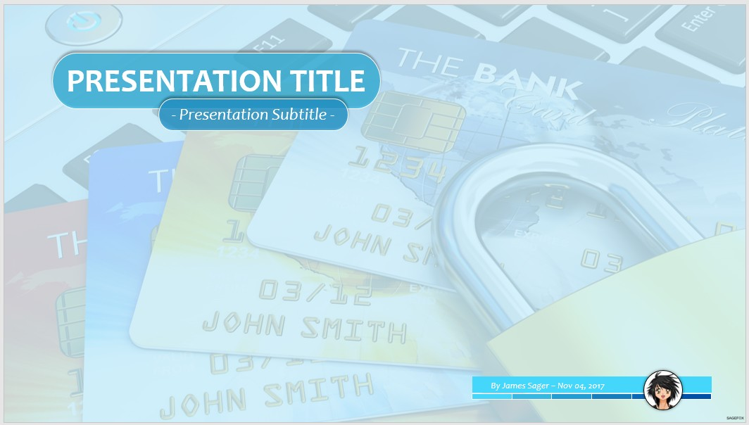 Free online banking security ppt 65586 sagefox powerpoint templates by james sager toneelgroepblik Image collections