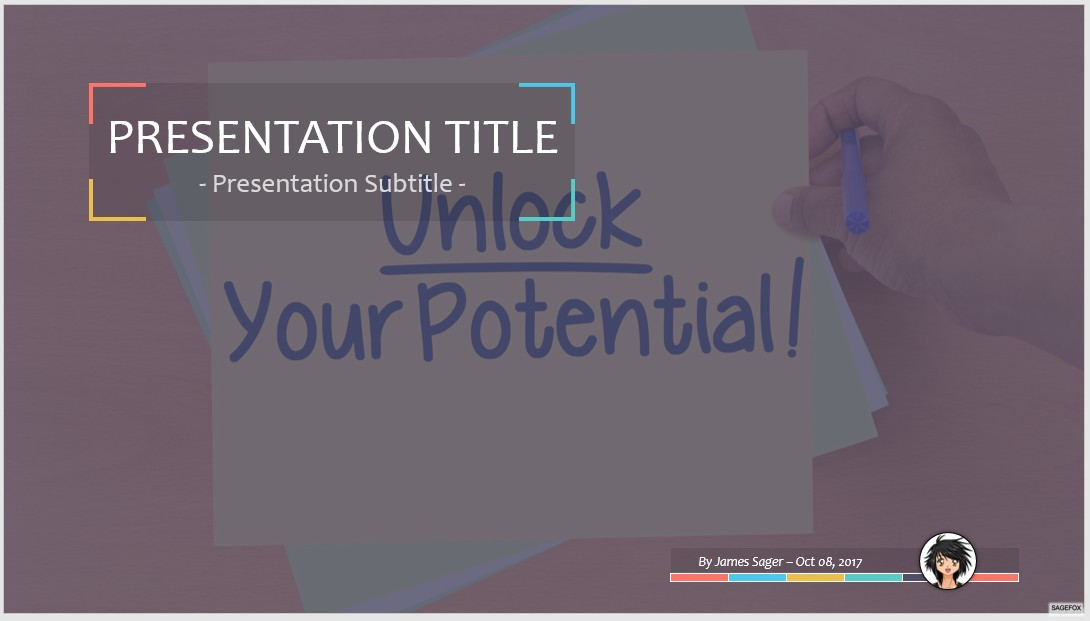 Free Unlock Your Potential PPT #65596 | SageFox Free PowerPoint ...
