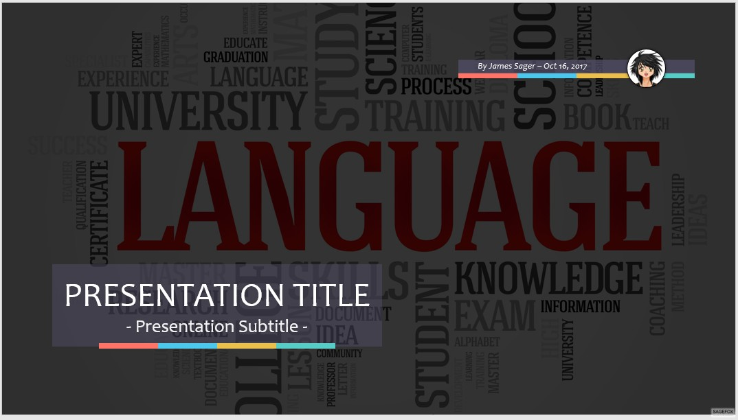 Free language ppt 61477 sagefox free powerpoint templates by james sager toneelgroepblik Choice Image