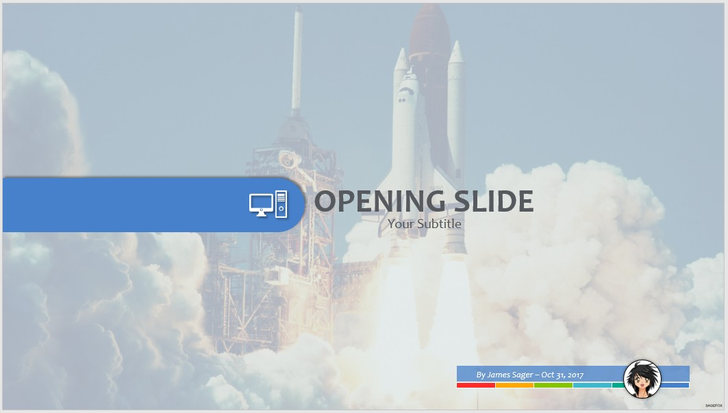 Free space shuttle launch ppt 65651 sagefox powerpoint templates by james sager toneelgroepblik Image collections