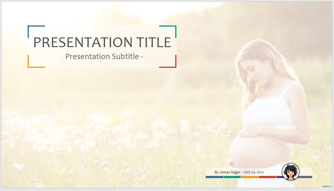 Free pregnant woman ppt 66751 sagefox powerpoint templates by james sager toneelgroepblik Image collections