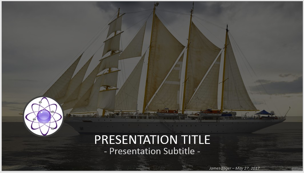 Free sailing ship powerpoint 67849 sagefox powerpoint templates by james sager toneelgroepblik Choice Image