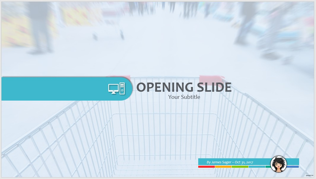 Free shopping cart in supermarket ppt 62931 sagefox powerpoint by james sager toneelgroepblik Image collections