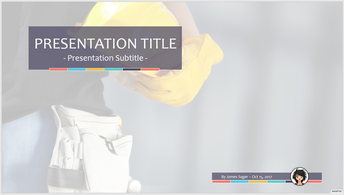 powerpoint templates construction image collections