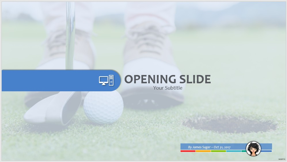 Free golf ppt 62315 sagefox powerpoint templates by james sager toneelgroepblik Choice Image