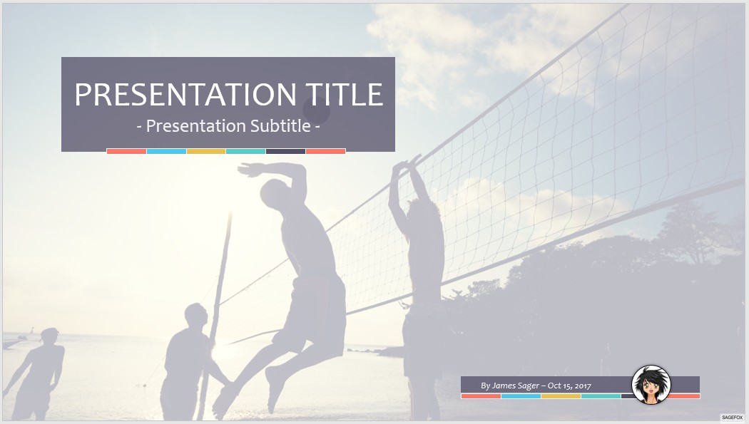 Free volleyball ppt 68214 sagefox powerpoint templates volleyball ppt toneelgroepblik Image collections