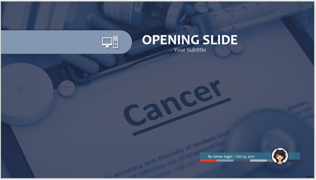 Free cancer ppt 71011 sagefox powerpoint templates by james sager toneelgroepblik Image collections