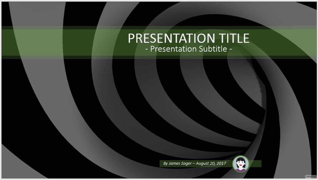 Free black and white abstract powerpoint 69751 sagefox free by james sager toneelgroepblik Gallery