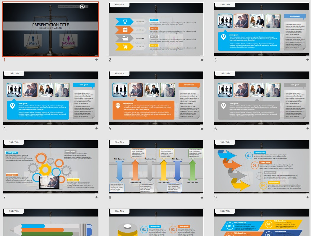 Free gender equality powerpoint 70241 sagefox powerpoint templates by james sager toneelgroepblik Image collections