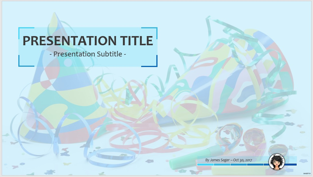 party ppt templates