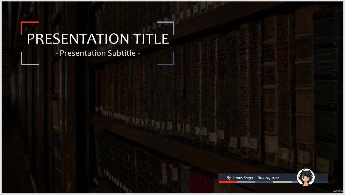 Free library powerpoint template 9950 sagefox powerpoint templates library ppt toneelgroepblik Images