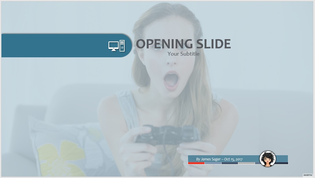 Free video games ppt 72106 sagefox powerpoint templates by james sager toneelgroepblik Choice Image