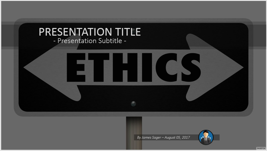 Free ethics powerpoint 71662 sagefox powerpoint templates by james sager toneelgroepblik Images