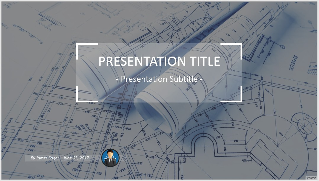 Free architectural project powerpoint 73537 sagefox powerpoint by james sager toneelgroepblik Image collections