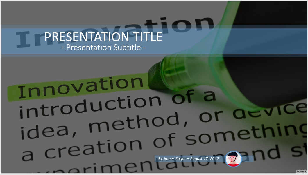 Free innovation powerpoint 74923 sagefox powerpoint templates by james sager toneelgroepblik Images