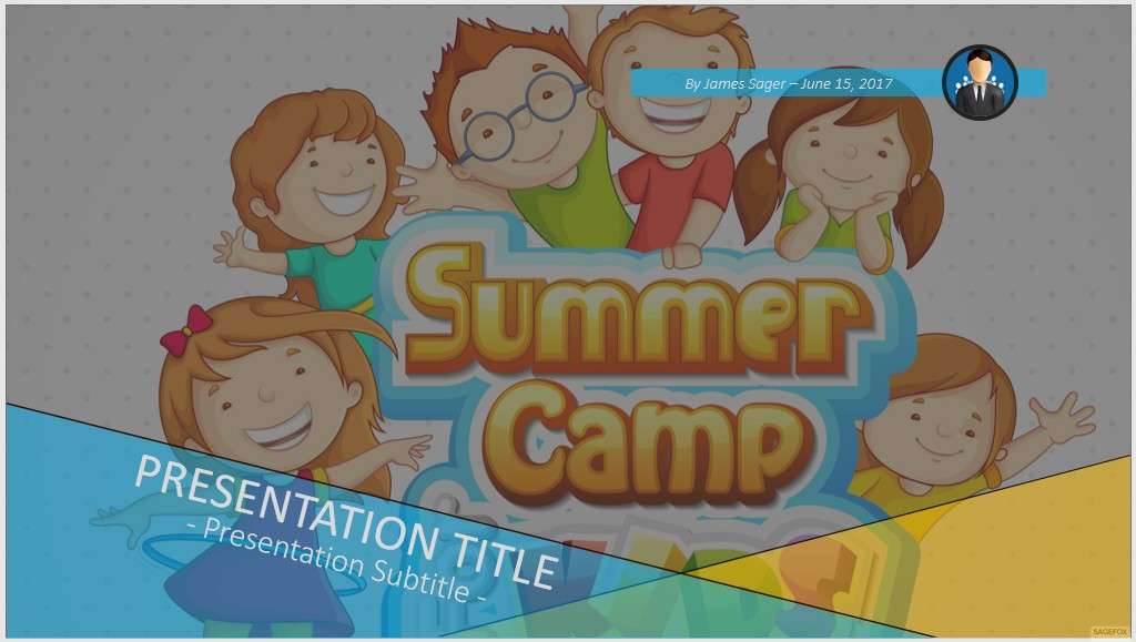 Free summer camp for kids powerpoint 74648 sagefox powerpoint by james sager toneelgroepblik Images