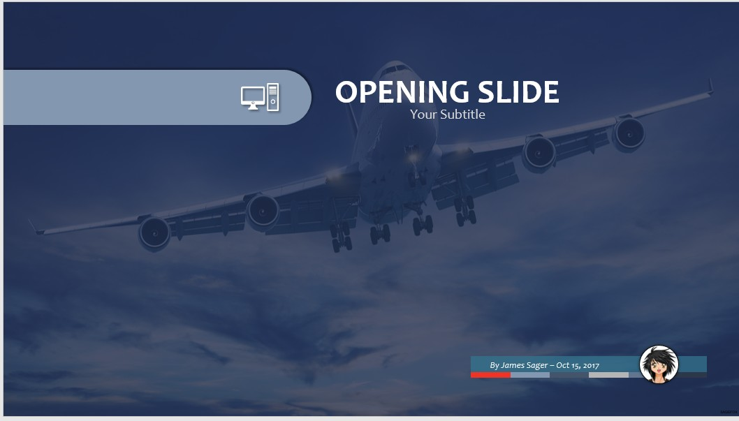 Free airplane powerpoint 30614 sagefox powerpoint templates commercial airplane ppt toneelgroepblik Choice Image