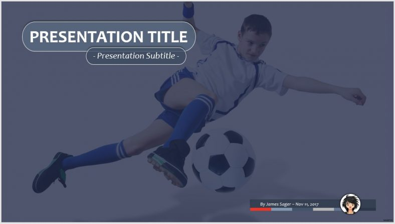Free Soccer Ppt 75073 Sagefox Powerpoint Templates