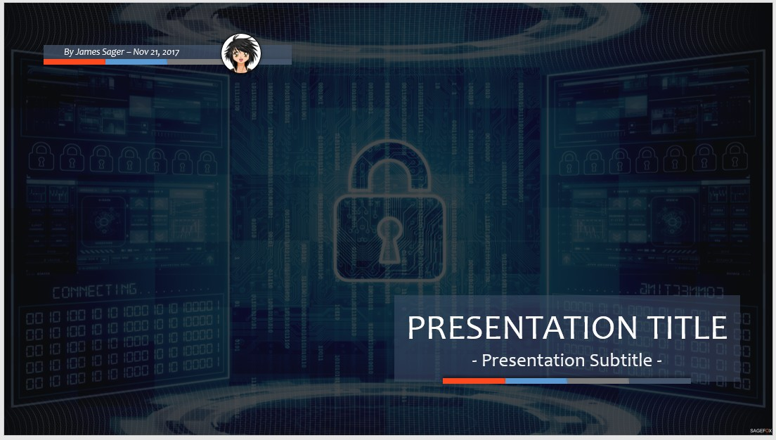 Free computer security ppt 78133 sagefox powerpoint templates by james sager toneelgroepblik Gallery
