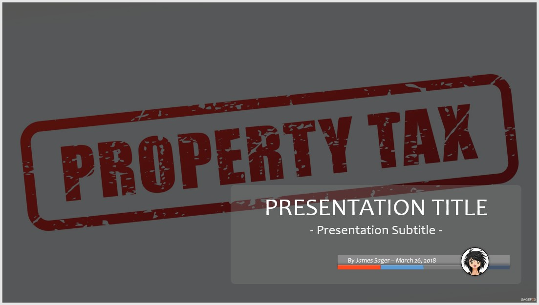 Free property tax powerpoint 78503 sagefox powerpoint templates by james sager toneelgroepblik Image collections